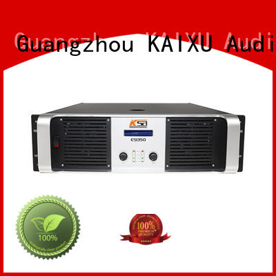 KaiXu custom made transistor power amplifier strong for multimedia