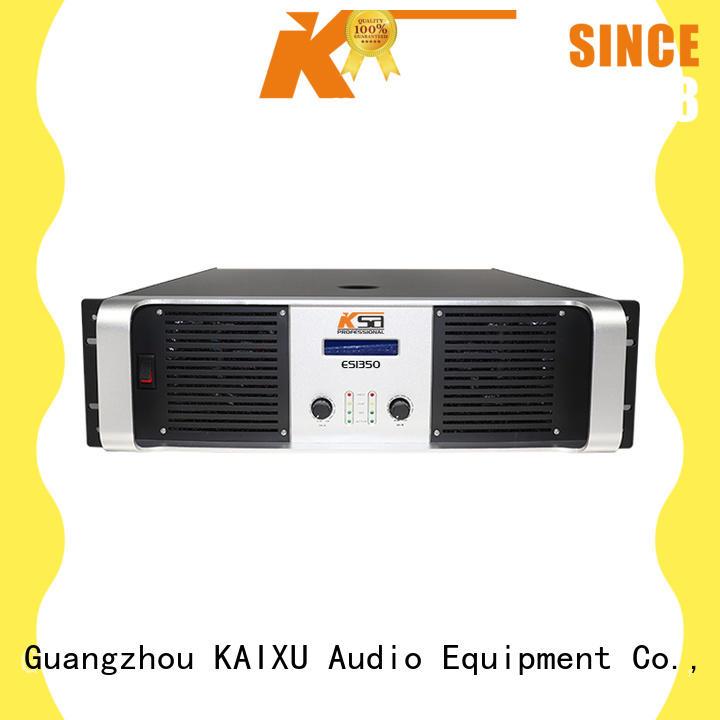 KSA stereo speaker amplifier strong for classroom