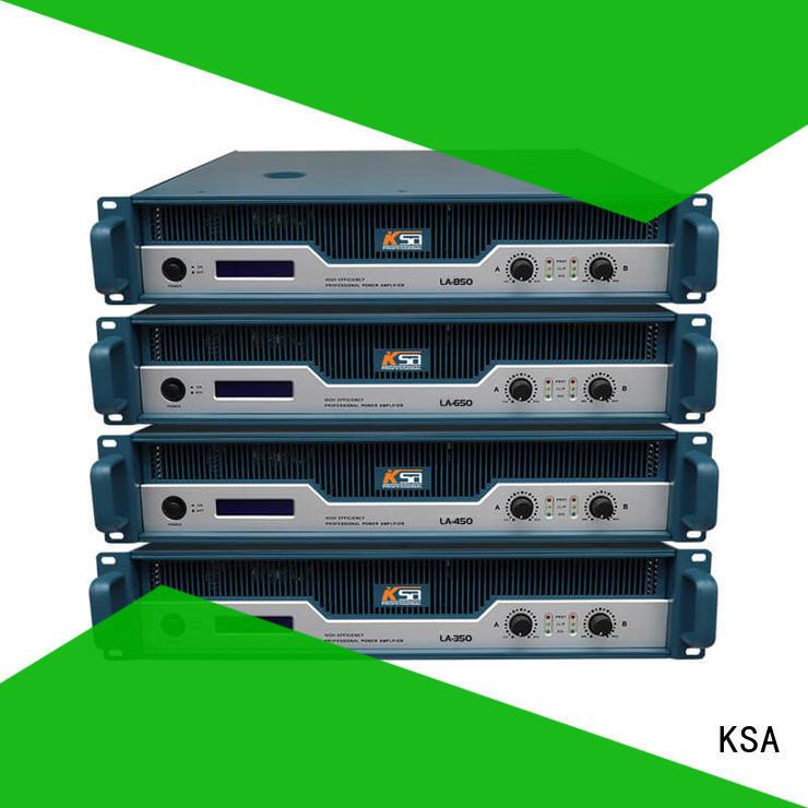 KSA studio amplifier with good price for club