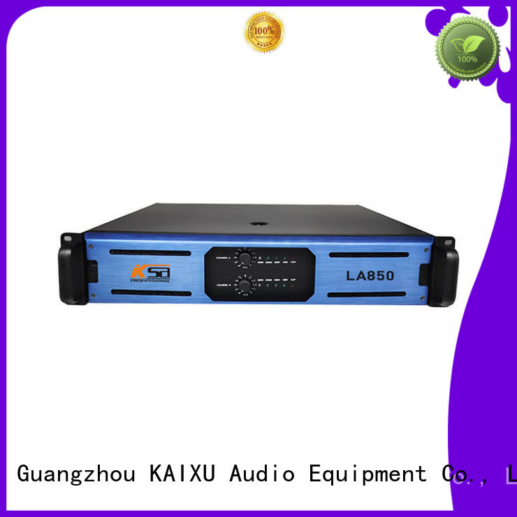 KaiXu professional dj power amplifier power outdoor audio