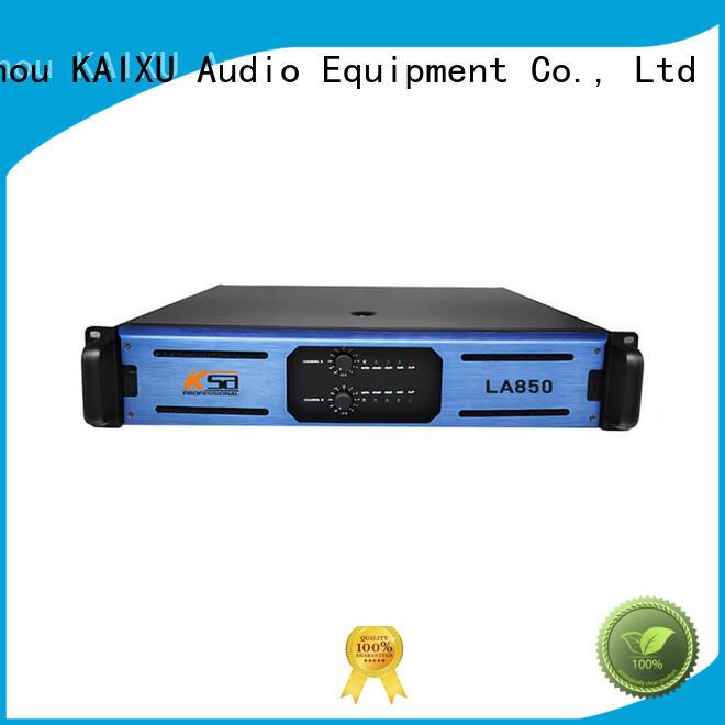 KaiXu high-quality the best power amplifier class series for night club