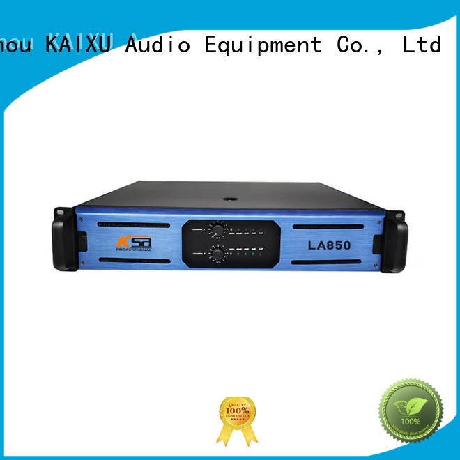 KaiXu high-quality the best power amplifier class series for night club