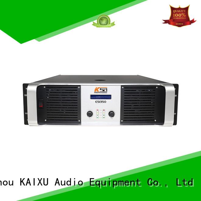 KaiXu channel home audio power amplifier es1350w multimedia