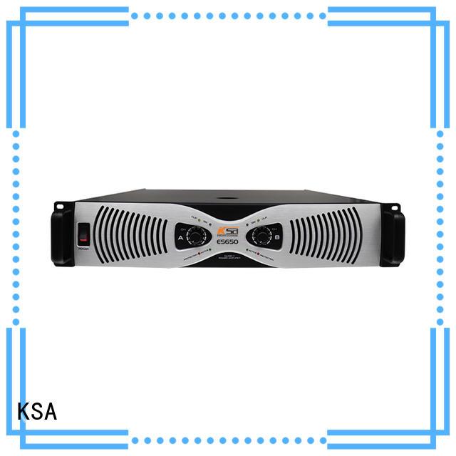 KSA transistor power amplifier company for speaker