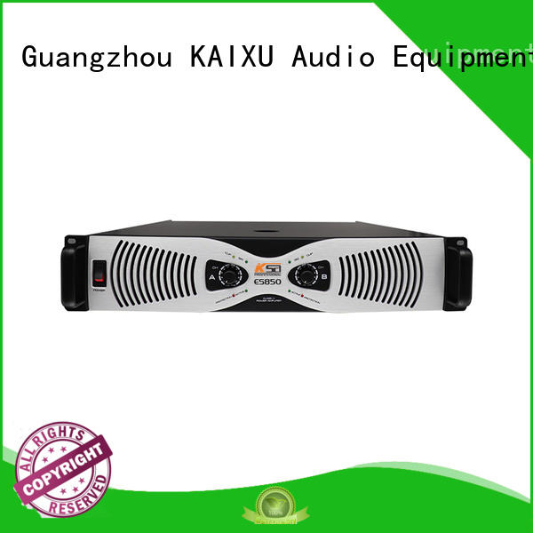 KSA custom made subwoofer power amplifier high quality for stage