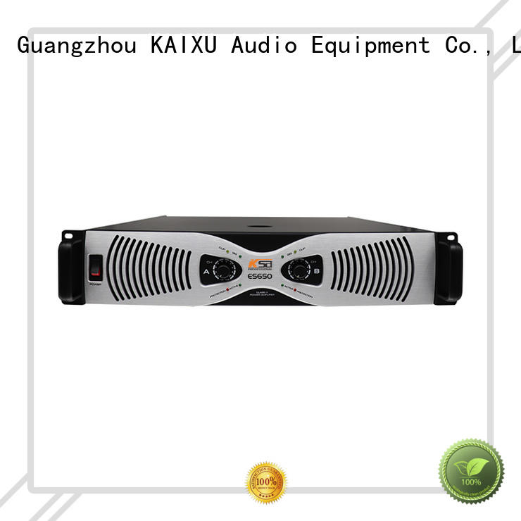 KSA best dj amplifier strong for multimedia