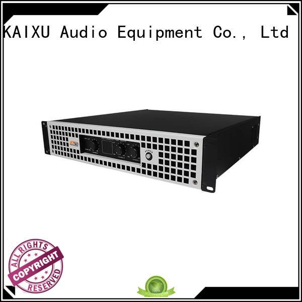 KaiXu professional compact amplifier home channels bar