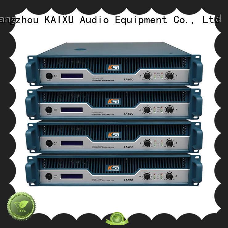 the best power amplifier power for ktv KaiXu